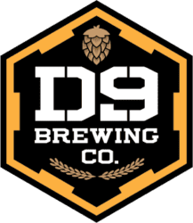 Logo for D9 Brewing Company