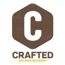 crafted artisan meadery logo