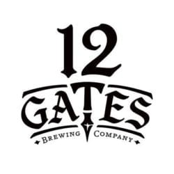 12 gates brewing company logo
