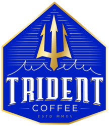Trident coffee logo
