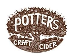 potters craft cider logo