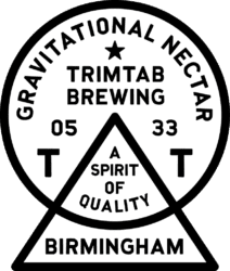 trim tab brewing logo