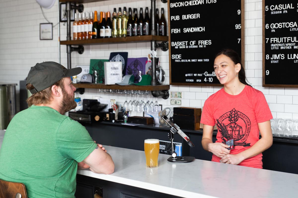 Brewery taproom POS