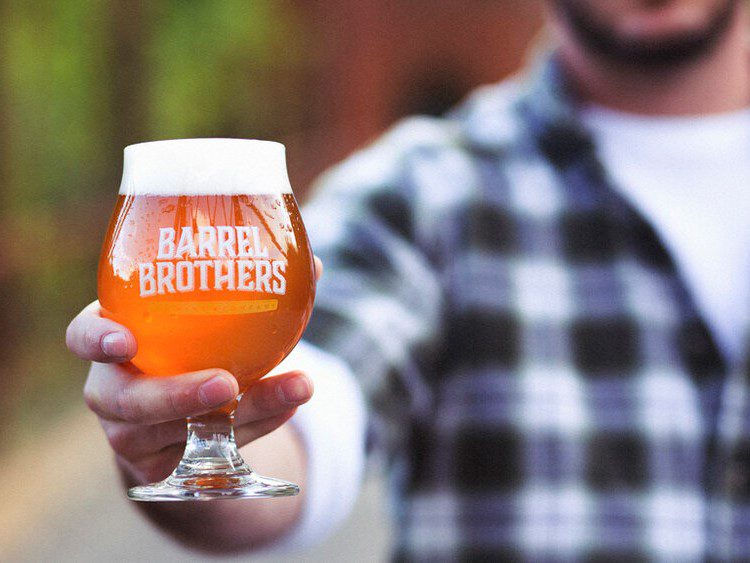 photo of barrel brothers brewing beer